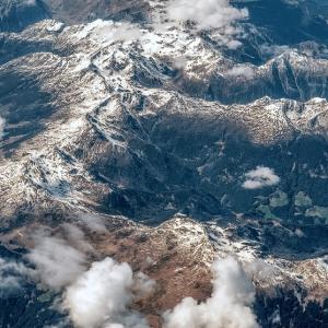 Альпы / Аэрофотосъемка