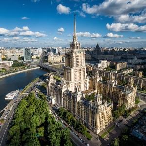 "Гостиница ""Украина"" / Аэрофотосъемка"