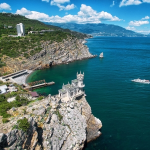 Ласточкино Гнездо, Крым / Аэрофотосъемка