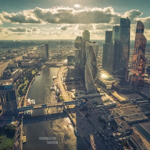 Москва-Сити / Аэрофотосъемка