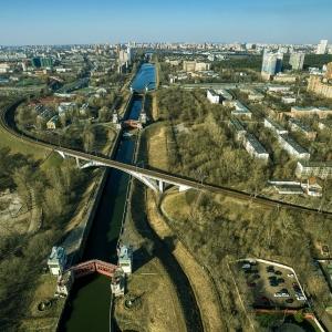 Канал им. Москвы / Аэрофотосъемка