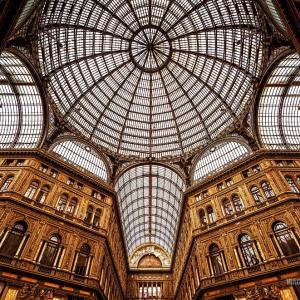 Галерея Умберто I, Флоренция / Архитектурная фотосъемка