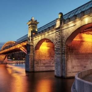 Андреевский мост, Москва / Архитектурная фотосъемка