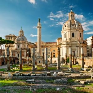 Форум Траяна в Риме / Архитектурная фотосъемка