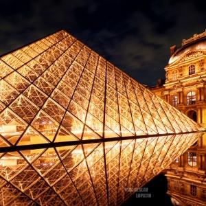 Лувр / Архитектурная фотосъемка