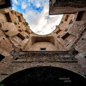 Руины терм Диоклетиана / Архитектурная фотосъемка
