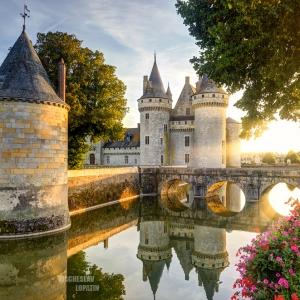 Замок Sully-sur-Loire / Архитектурная фотосъемка