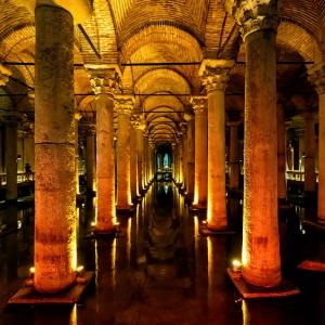 Цистерна Базилика в Стамбуле / Архитектурная фотосъемка