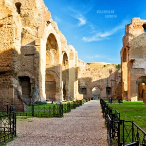 Термы Каракаллы, Рим / Архитектурная фотосъемка