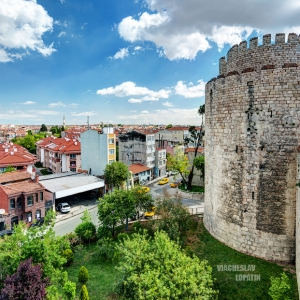 Крепость Едикуле, Стамбул / Архитектурная фотосъемка