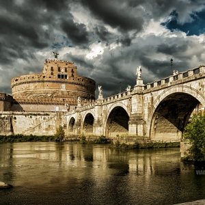 Замок Святого Ангела, Рим / Архитектурная фотосъемка