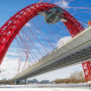 Живописный мост, Москва / Архитектурная фотосъемка