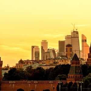 Кремль и Москва-Сити / Архитектурная фотосъемка