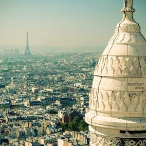 Вид с Монмартра, Париж / Архитектурная фотосъемка