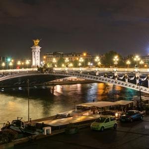 Мост Александра III, Париж / Архитектурная фотосъемка