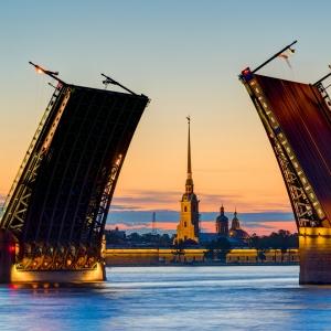 Дворцовый мост, Санкт-Петербург / Архитектурная фотосъемка