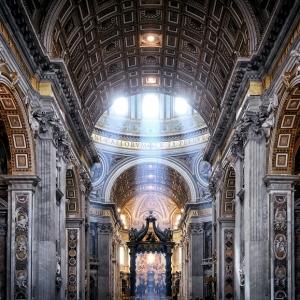 Собор Святого Петра в Риме / Архитектурная фотосъемка