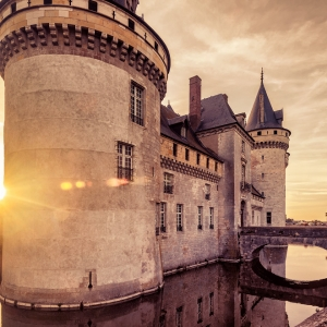 Замок Sully-sur-Loire, Франция / Архитектурная фотосъемка