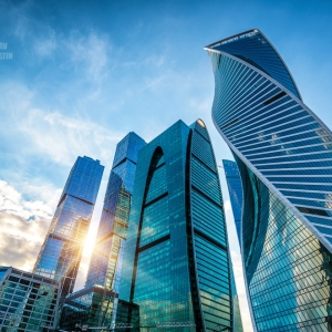 Москва-Сити / Архитектурная съемка