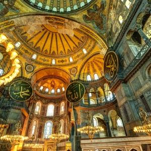 Собор Святой Софии в Стамбуле / Архитектурная фотосъемка