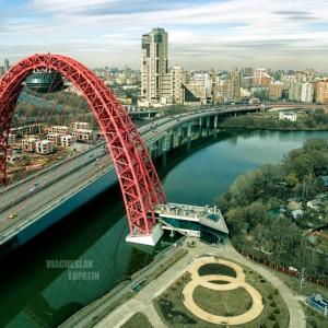 Живописный мост / Фотосъемка с квадрокоптера