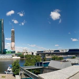 Панорама Москва-Сити / Архитектурная фотосъемка