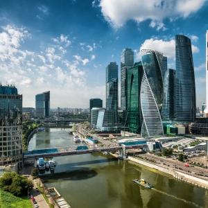 Москва-Сити / Фотосъемка с квадрокоптера