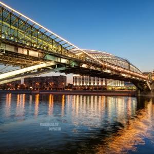 Мост Богдана Хмельницкого, Москва / Архитектурная фотосъемка