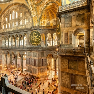 Собор Святой Софии, Стамбул / Архитектурная фотосъемка