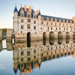 Замок Chenonceau, Франция / Архитектурная фотосъемка