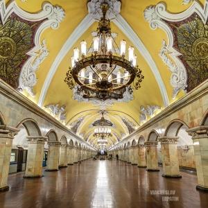 """Ст. метро """"Комсомольская"""" / Интерьерная фотосъемка"""