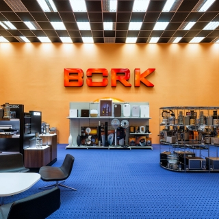 Шоурум Bork / Интерьерная фотосъемка