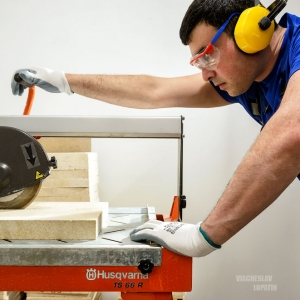 Резка плитки / Промышленная фотосъемка