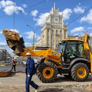 Реконструкция Триумфальной площади / Промышленная фотосъемка
