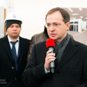 Министр культуры Мединский / Репортажная фотосъемка