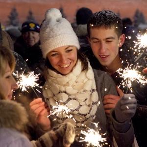 Новый год на Красной площади / Репортажная фотосъемка