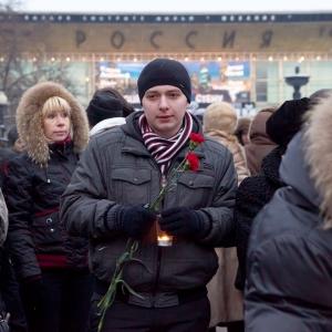 Панихида по жертвам теракта / Репортажная фотосъемка