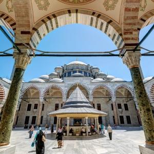 Мечеть Фатих, Стамбул / Тревел-фотография