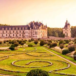 Замок Шенонсо, Франция / Тревел-фотография