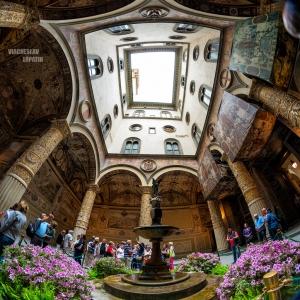 Палаццо Веккьо во Флоренции / Тревел-фотография