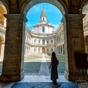 Palazzo della Sapienza, Рим / Тревел-фотография