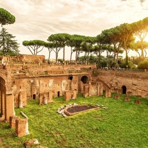 Руины стадиона Домициана, Рим / Тревел-фотография