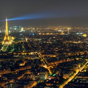 Ночной Париж / Тревел-фотография