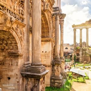Римский форум, Рим / Тревел-фотография