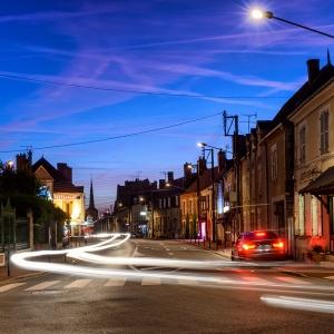 Провинциальный городок, Франция / Тревел-фотография