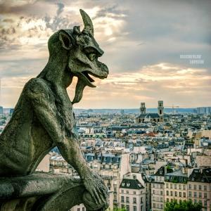 Нотр-Дам де Пари, Париж / Тревел-фотография