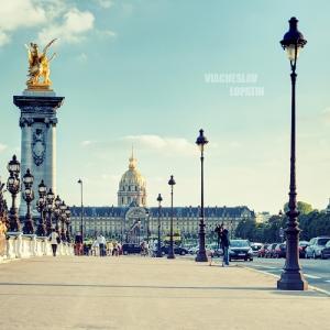 Мост Александра, Париж / Тревел-фотография
