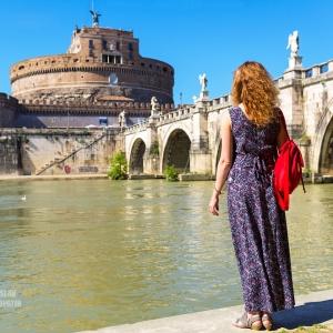Замок Святого Ангела, Рим / Тревел-фотография