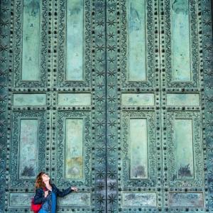 Ворота Латеранского собора / Тревел-фотография