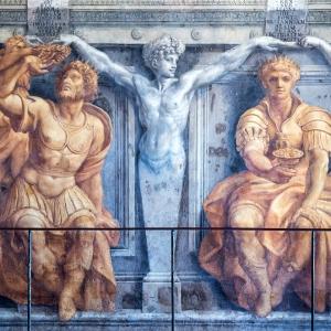 Настенная роспись, Ватикан / Тревел-фотография